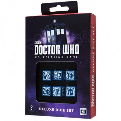 Buy Dice Set - Q-Workshop - 6D6 - Doctor Who (Deluxe) and more Great Dice Products at 401 Games