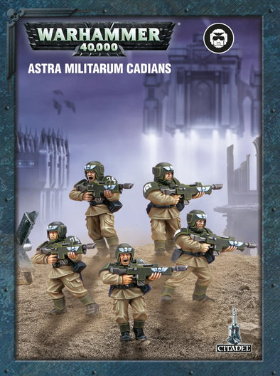 Buy Warhammer 40,000 - Astra Militarum - ETB Cadians and more Great Games Workshop Products at 401 Games