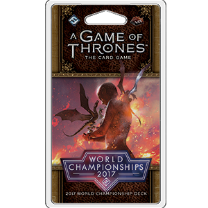 Game of Thrones LCG - 2nd Edition - 2017 World Championship Deck - 401 Games