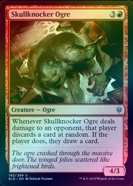 Skullknocker Ogre (Foil) (ELD) available at 401 Games Canada