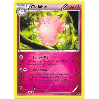 Buy Clefable - 71/111 and more Great Pokemon Products at 401 Games