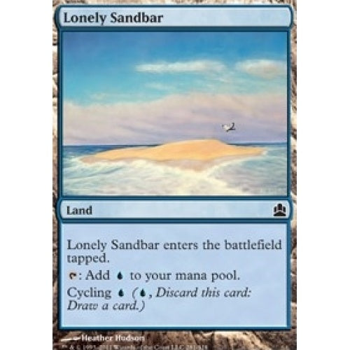 Lonely Sandbar (CMD) available at 401 Games Canada