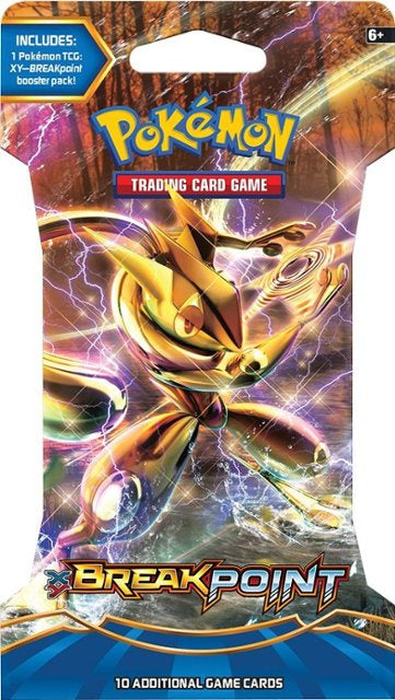 Pokemon - Breakpoint Sleeved Booster Pack available at 401 Games Canada