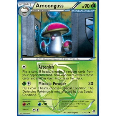 Amoonguss - 13/135 - Reverse Foil - 401 Games