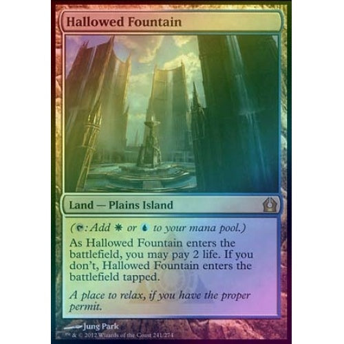 Hallowed Fountain (Foil) (RTR) available at 401 Games Canada