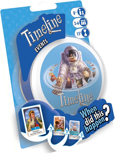 Buy Timeline - Events and more Great Board Games Products at 401 Games