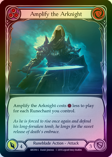 Amplify the Arknight (ARC096) - Rainbow available at 401 Games Canada