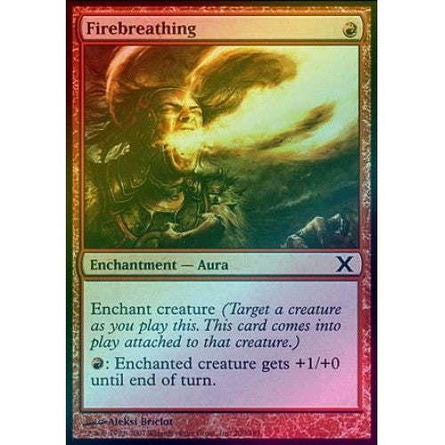 Firebreathing (Foil) available at 401 Games Canada
