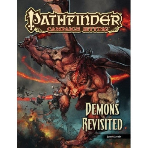 Buy Pathfinder - Campaign Setting - Demons Revisited and more Great RPG Products at 401 Games
