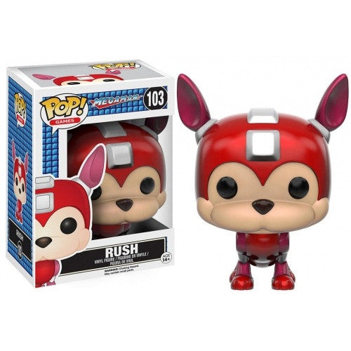 Buy Pop! Mega Man - Rush and more Great Funko & POP! Products at 401 Games