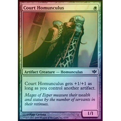 Court Homunculus (Foil) (CON) available at 401 Games Canada