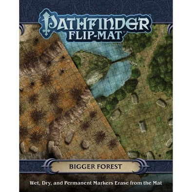 Pathfinder - Flip Mat - Bigger Forest - 401 Games