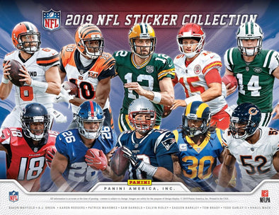 2019 Panini NFL Sticker Box - 401 Games