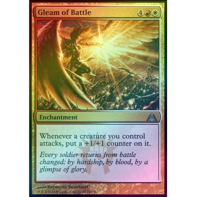 Gleam of Battle (Foil) (DGM) - 401 Games