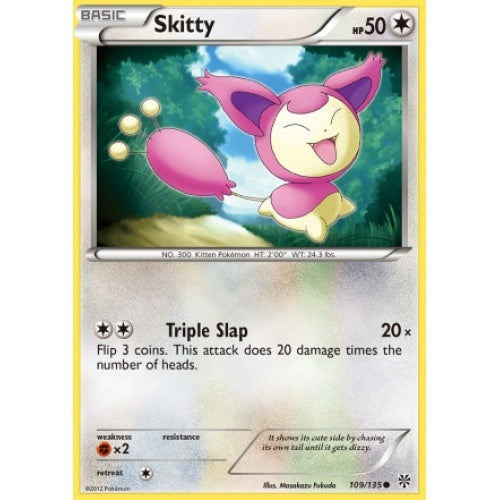 Skitty - 109/135 - Reverse Foil (PLS109R) available at 401 Games Canada