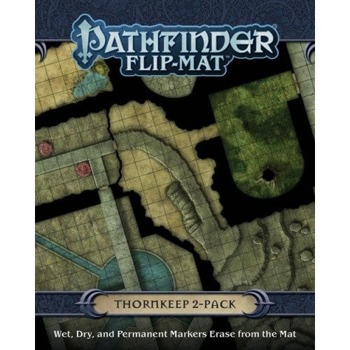 Pathfinder - Flip Mat - Thornkeep 2-Pack available at 401 Games Canada