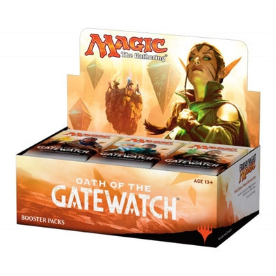 Buy MTG - Oath of the Gatewatch - English Booster Box and more Great Magic: The Gathering Products at 401 Games