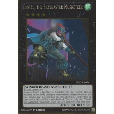 Castel, the Skyblaster Musketeer - (Gold Rare) (PGL3) available at 401 Games Canada