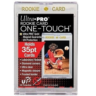 Buy Ultra Pro - Magnetic One Touch - 35pt Rookie Gold and more Great Sleeves & Supplies Products at 401 Games