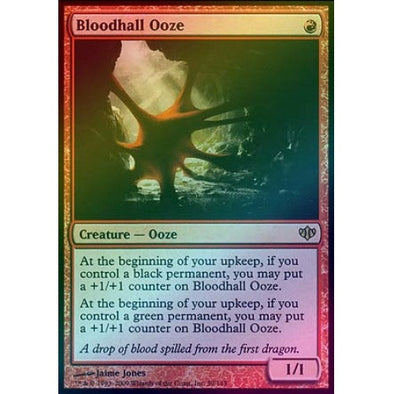 Bloodhall Ooze (Foil) (CON) - 401 Games