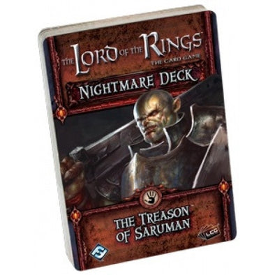 Lord of the Rings - The Card Game - Treason of Saruman Nightmare Deck available at 401 Games Canada