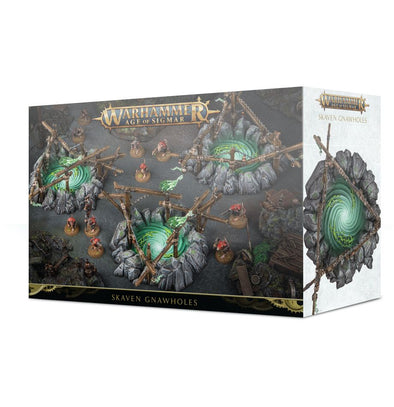 Buy Warhammer - Age of Sigmar - Skaven Gnawholes and more Great Games Workshop Products at 401 Games