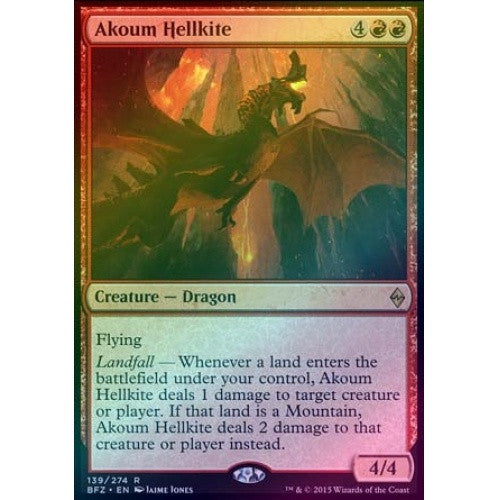 Akoum Hellkite (Foil) (BFZ) available at 401 Games Canada