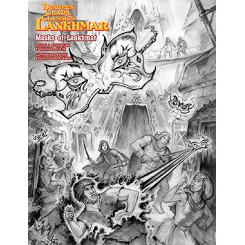 Dungeon Crawl Classics - Lankhmar: Masks of Lankhmar available at 401 Games Canada