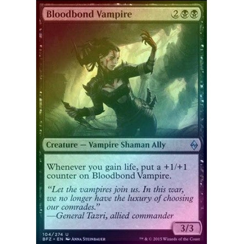 Bloodbond Vampire (Foil) (BFZ) available at 401 Games Canada