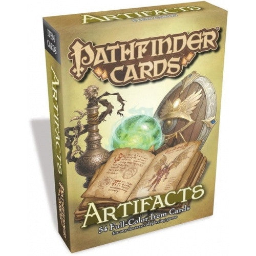Buy Pathfinder - Cards - Artifacts Deck and more Great RPG Products at 401 Games