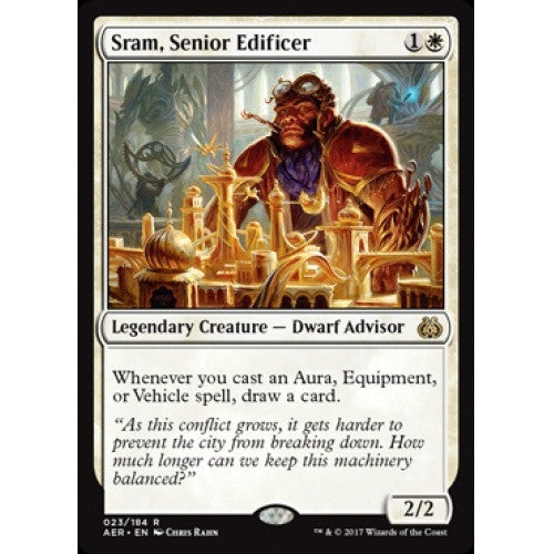 Sram, Senior Edificer (AER) available at 401 Games Canada