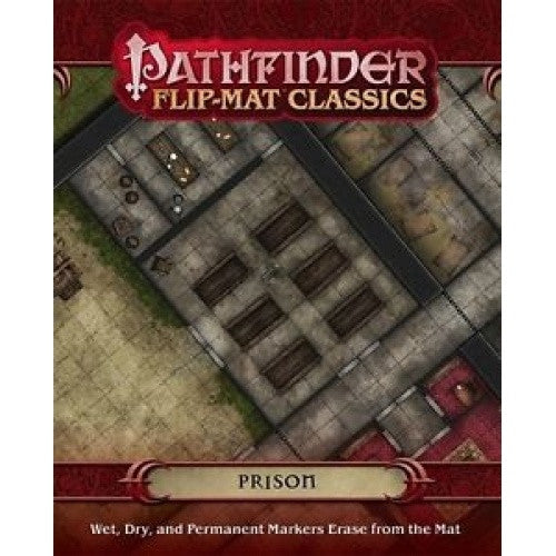 Pathfinder - Flip Map - Prison available at 401 Games Canada