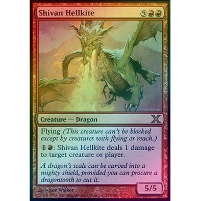 Shivan Hellkite (Foil) available at 401 Games Canada