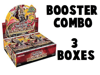 Yugioh - Blazing Vortex Booster Combo (3 Boxes) - 1st Edition available at 401 Games Canada