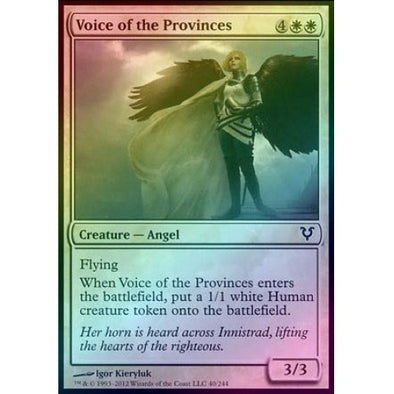 Voice of the Provinces (Foil) (AVR) available at 401 Games Canada