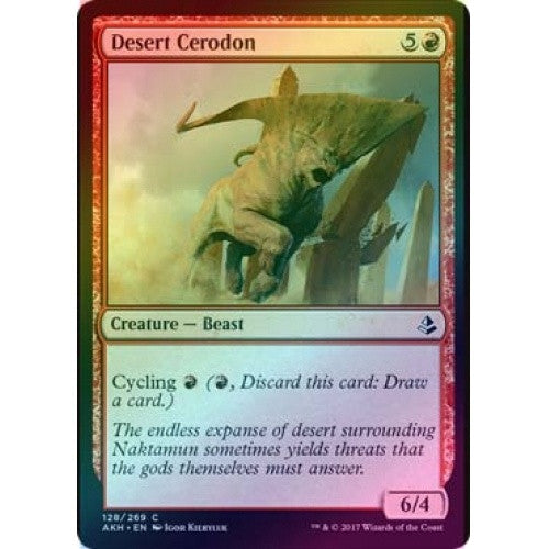 Desert Cerodon (Foil) (AKH) available at 401 Games Canada