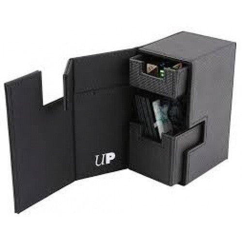 Buy Ultra Pro - Deck Box M2 - Black/Black and more Great Sleeves & Supplies Products at 401 Games