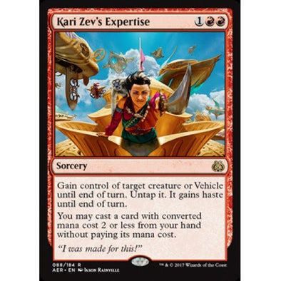 Kari Zev's Expertise (AER) available at 401 Games Canada