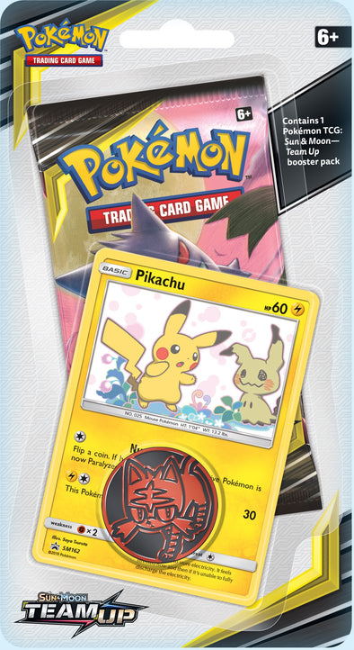 Pokemon - Team Up Check Lane Blister Pack - Pikachu available at 401 Games Canada
