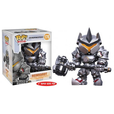 Buy Pop! 6 Inch - Overwatch - Reinhardt and more Great Funko & POP! Products at 401 Games
