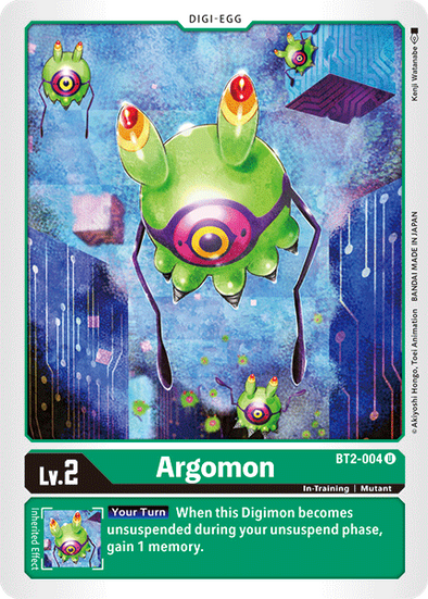 Argomon (BT2-004) available at 401 Games Canada