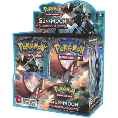 Buy Pokemon - Burning Shadows Booster Box and more Great Pokemon Products at 401 Games