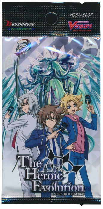 Cardfight!! Vanguard - V Extra Booster 07: The Heroic Evolution Booster Pack available at 401 Games Canada