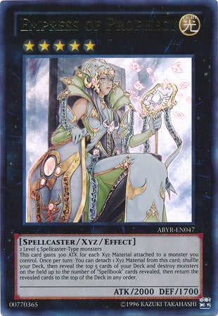 Empress of Prophecy - (Ultra Rare) (ABYR) available at 401 Games Canada