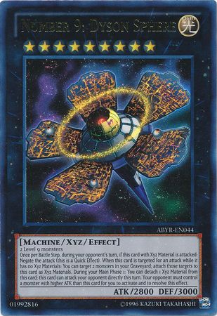 Number 9: Dyson Sphere - (Ultra Rare) (ABYR) available at 401 Games Canada