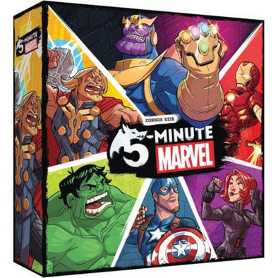 Buy 5-Minute Marvel and more Great Board Games Products at 401 Games
