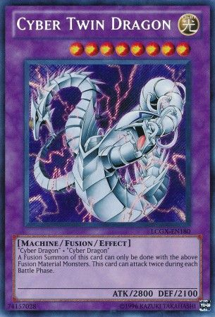 Cyber Twin Dragon - (Secret Rare) available at 401 Games Canada