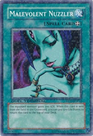 Malevolent Nuzzler - (Duel Terminal Normal Parallel Rare) available at 401 Games Canada