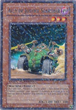 Ally of Justice Searcher - (Duel Terminal Rare Parallel Rare) (DT02) available at 401 Games Canada