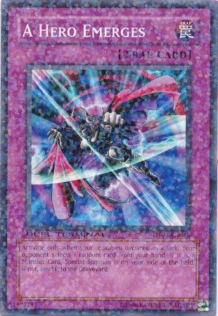 A Hero Emerges - (Duel Terminal Normal Parallel Rare) (DT02) available at 401 Games Canada